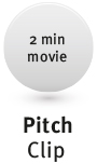 Logo PitchClip, internet bedrijfsfilms